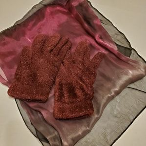 Accessories - 👸🧣🧤 Sparkly Gloves and Scarf Set